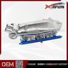 Excellent Material 240SX Intake Manifold Aluminum Casting With Fuel Rail Kit And Throttle Body