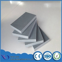 Lightweight and good quality 12-20mm brown gray blue pvc concrete formwork for building