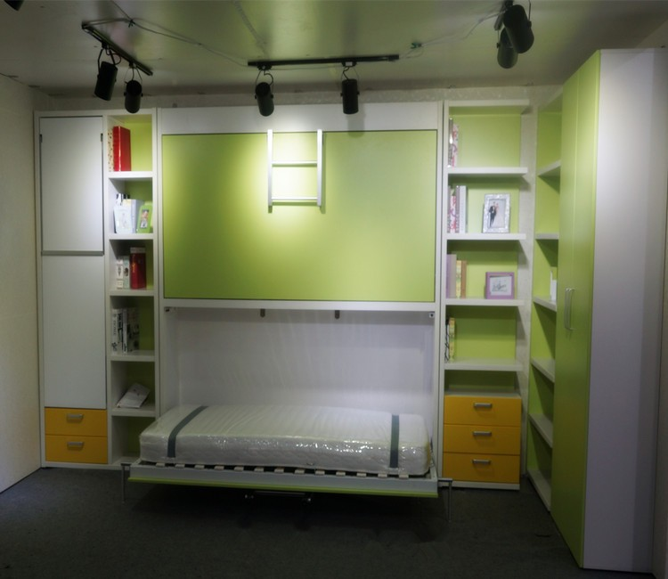 Folding Convertible Furniture ,Colorful Bunk Bed for Kids