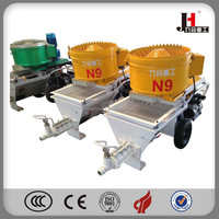 2015 Hot Sell Automatic Mixing Plaster machine high pressure cement grout pump,