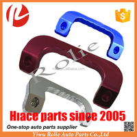 Refit turning auto parts aluminum alloy innder door grab handle for Toyota hiace van 2005-2016 I II III IV KDH 200 model Japan