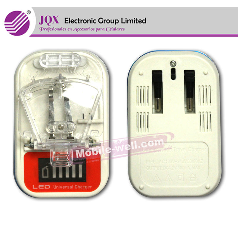 LCD universal charger for all mobile