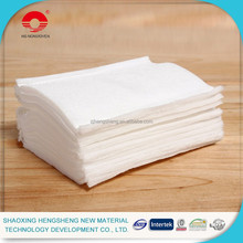 nonwoven facial comestic cotton pad for skin cleaning