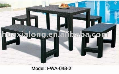 Outdoor Bar Settings, Rattan outdoor barstool setting,rattan furniture viro