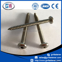 316 304 Stainless Steel Pan Head