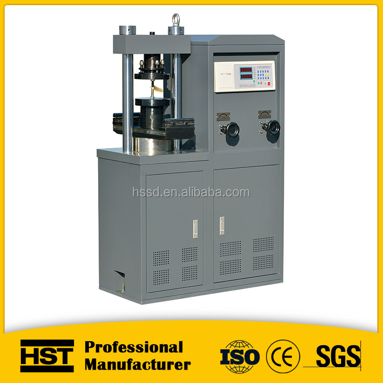 YES Digital Display Eletronic Concrete Brick Compression Testing Machine / price digital compressive strength testing machine