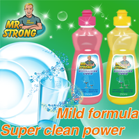 Super clean power dishwashing liquid for household cleaning