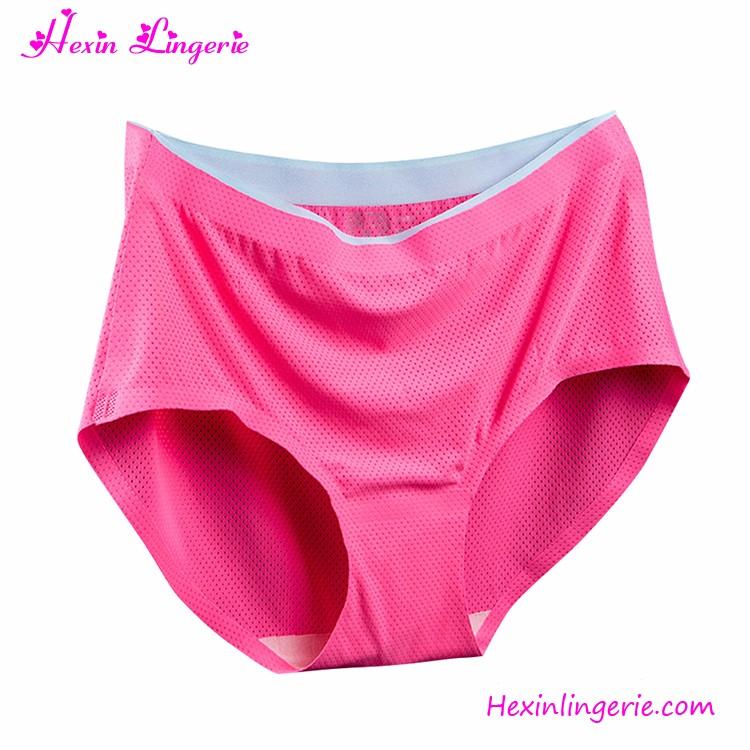 Custom Label Seamless Lingeries Teen Women Underwear Panty