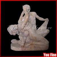 garden marble garden statue naked woman marble nude statue of man and woman