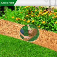 Natural Coir Garden Edging Fence,Coco Garden Edging Fence