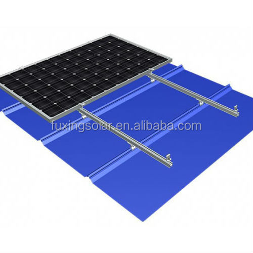 MR-VI 04 Trapezoidal Mounting System For Metal Roof Solar Racking