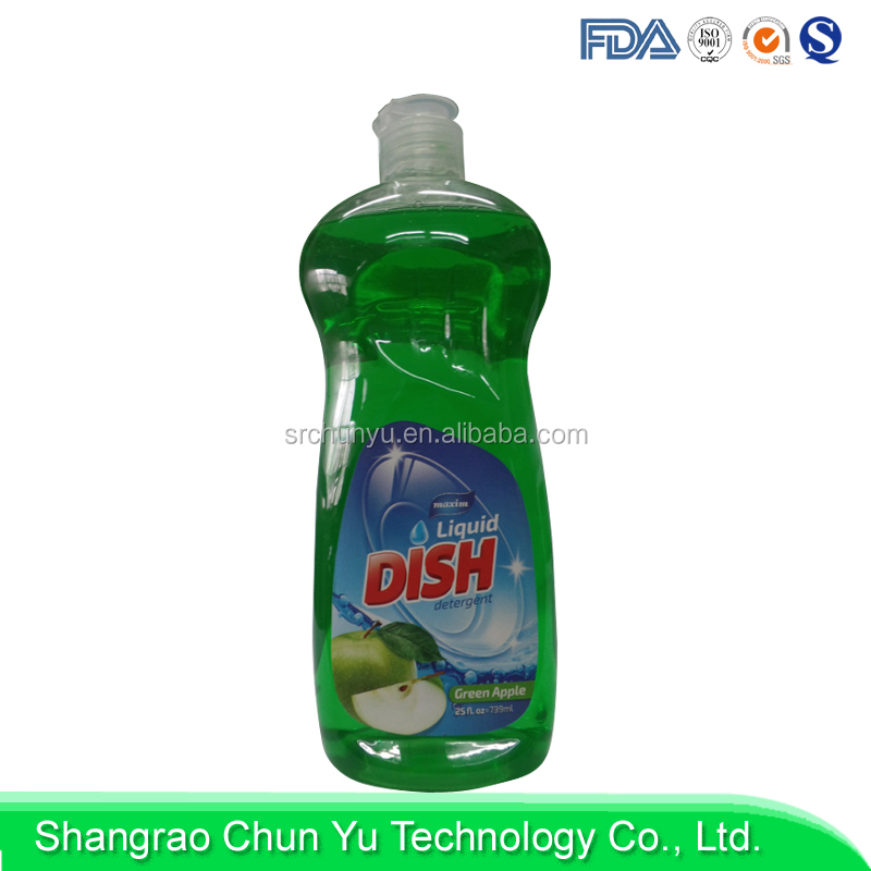 Wholesale eco-friendly stocked chemical formula dishwashing liquid