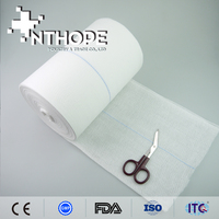 Health and medical hemostatic sterile gauze roll