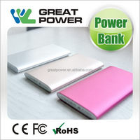 Economic unique 4000mah japan battery cells power bank