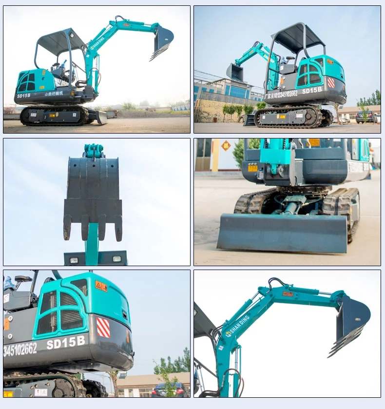 Garden dingging ,High Quality orchard mini excavator