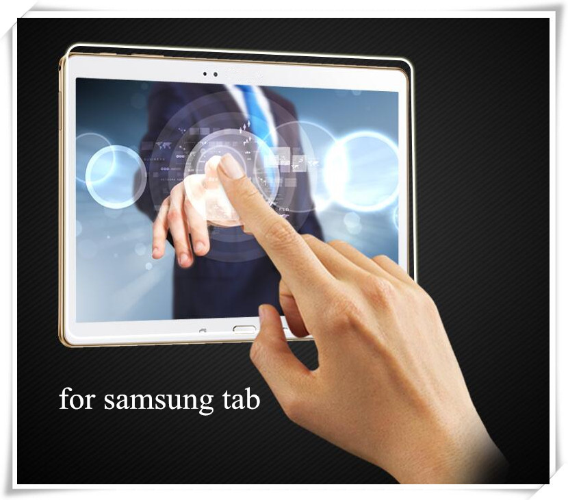 Anti-reflection laptop tempered glass screen protector for samsung mobile T5200