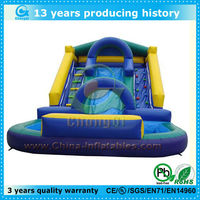 2013 new inflatable kids pools slides