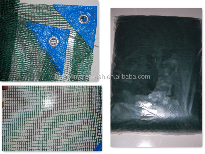 high strength hdpe green olive harvest net