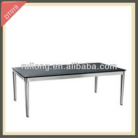 solid pine glass and steel indian style dining tables