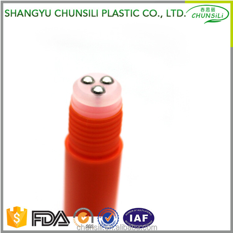 new design PETG plastic 15ml roll-on homeopathic vials