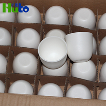 Chinese Supplier Factory Made Porcelain Crucible Melting Metal Crucible With Lid