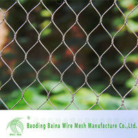 metal knitted batting cage netting mesh