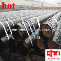 API SPEC 5L Q235B 11.8m Painted black ERW Steel Pipe \Tube