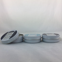 wholesale round mini pomade tin cans