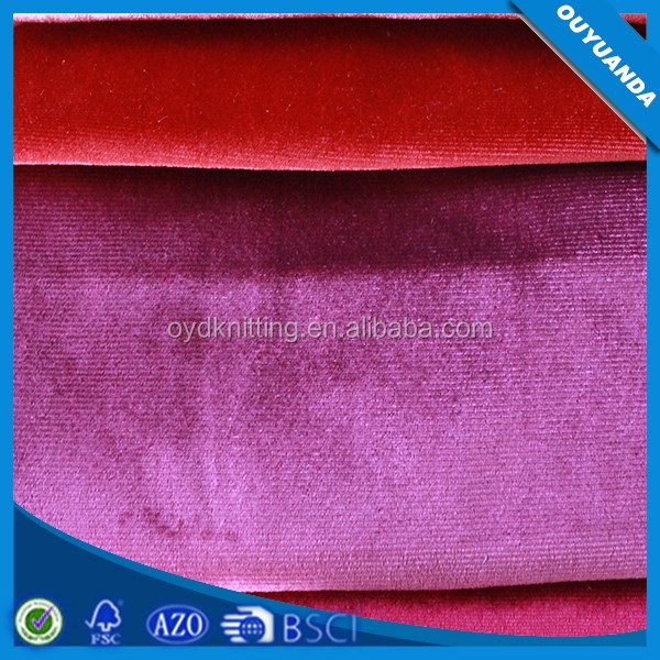 Shiny Luxury Upholstery Italy Velvet Fabric for Sofa,Curtain,Home Textile