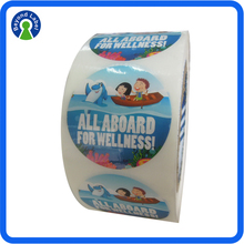 Glossy Paper Self Adhesive Labels on Roll form made in China