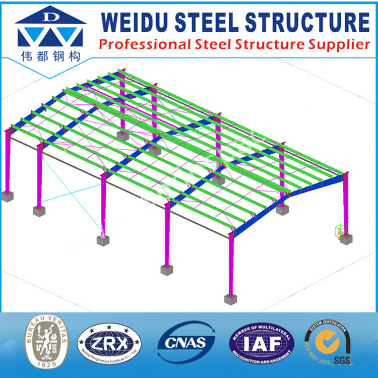 Use Tekla software detailed design Steel Structures Building