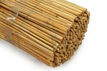 bamboo style reed natural fences panel
