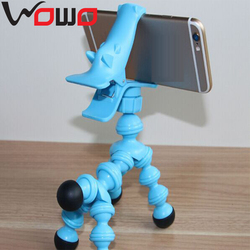 Adjustable Flexible Plastic Horse Style Tripod Light Stand For Mobile Phone