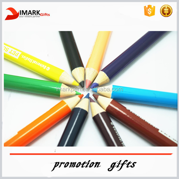 Art Painting Mini Drawing Pencils with Custom Logo for Kids