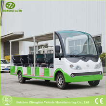 14 seats electric passenger car for sightseeing
