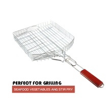 Vegetable Grill Basket BBQ Large Size Grilling baskets Barbecue Metal window grill basket