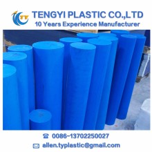 Blue mc Nylon rod PA6 plastic Rod polyamide MC 901 color