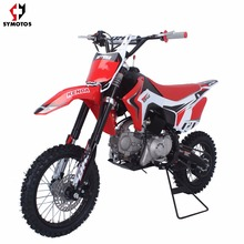 dirt bike cross 125cc electric start 12/4 pitbike cross bike dirt bike Gas/Diesel Fuel and 4-Stroke Engine