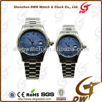 Swiss geneva quartz made watches japan movt with stainless steel case