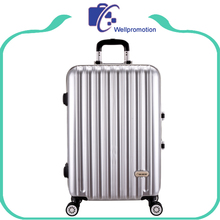 Colorful hard shell luggage/ABS PC aluminum luggage case