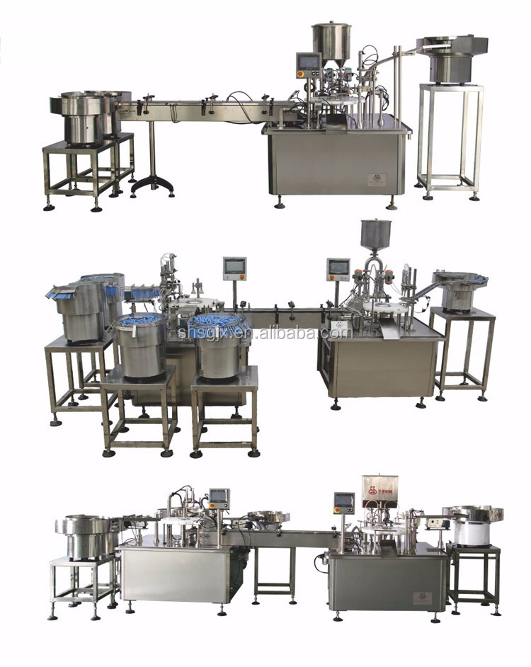 SG Automatic Tube Paste SHANGHAI Specializing Production Small Plastic Tube Filling Sealing Machine