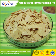 Supply Sodium Sulphide 60% min red or yellow flakes - Textile, leather, dyes ,mining