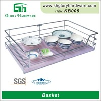 Chinese New Sytle Stainless Steel Kitchen Helper Wedding Ring Basket