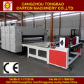 Dongguang T480 2 color printer slotter corrugated paper box manufacturing machines