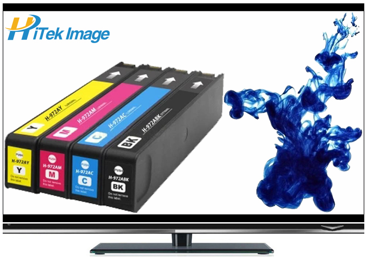 Compatible HP 352dw 377dw 452dn 477dn 552dw 577dw P55250dw P57750dw 972 Ink Cartridge