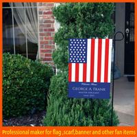 Factory selling mental stand durable flourish garden flag