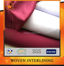 Best service garment fusible interfacing fabric