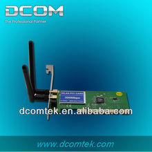 2.4GHz 802.11b/g/n Wireless LAN N 300Mbps internal pci long range wireless usb adapter