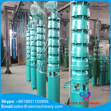 "14""/14 inch multistage specification of submersible water pump"