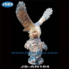 black stone decoration eagle for outdoor